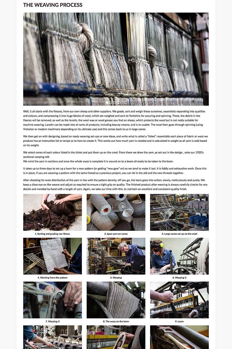 West Coast Media, Ardalanish Weaving Process, Isle of Mull