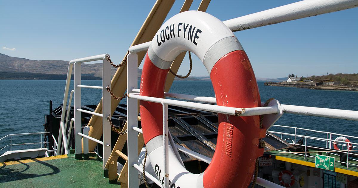 west-coast-media-trip-loch-fyne-ferry