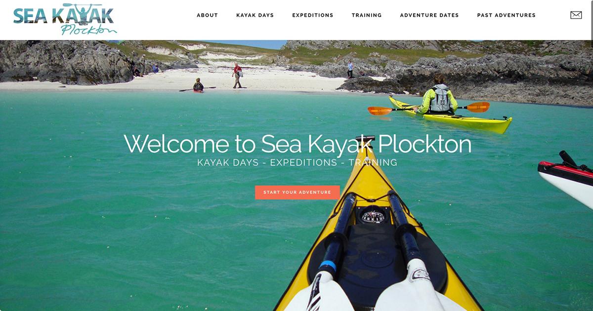 home sea kayak Plockton West Coast Media
